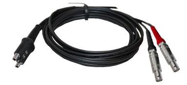 53887 LEMO-00 to LEMO-1 Cable SEKG2 For SEB MSEB type Dual Element Transducers
